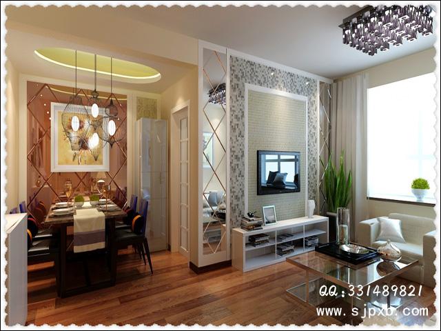 小户型装修客厅电视背景墙的设计技巧