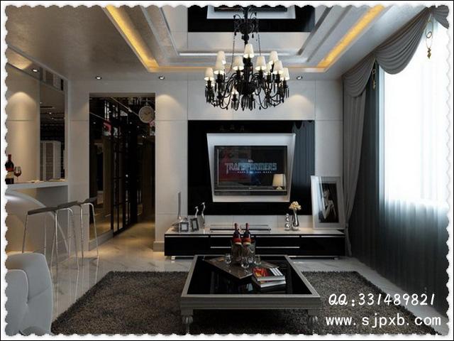室内设计图纸中装修木工二级吊顶的做法和特性培训